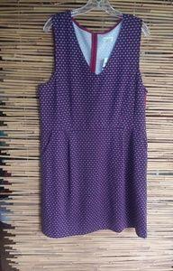 Maison Jules Blu Notte Combo Dress XXL Plus